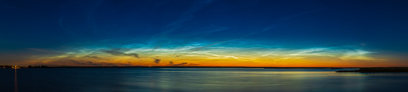 Arc of Noctilucent Clouds (June 20, 2021)