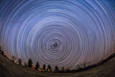 Circumpolar Star Trails from Arizona
