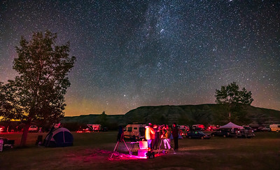 Alberta Star Party 2021 - Group at SCT