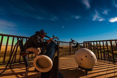 Observing Mars (Sept 27, 2020)