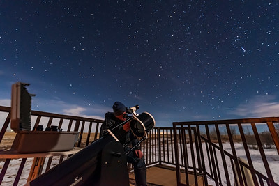 Testing Eyepieces with the Sky-Watcher Dobsonian