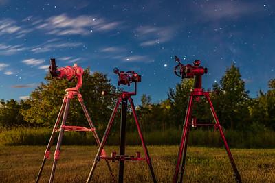 Telescope Trio Testing