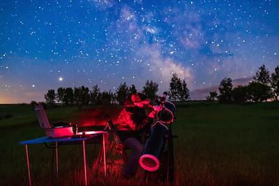 Observing with Sky-Watcher Dobsonian Telescope
