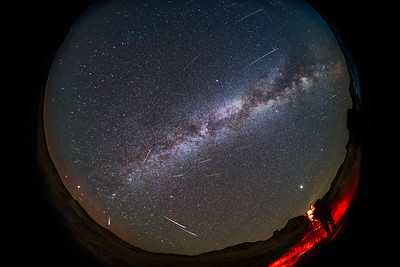 Shooting the 2021 Perseids