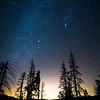 Stars Versus Light Pollution