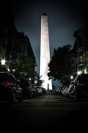 Monument Street - Bunker Hill - Boston