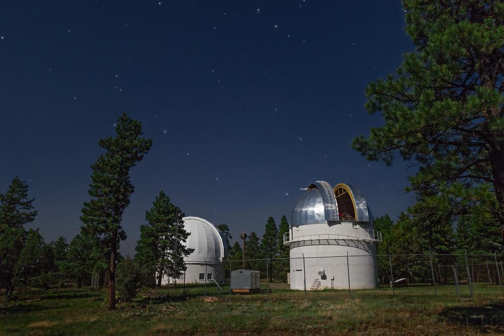 Perkins and Hall Domes at Anderson Mesa