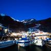 Amoudi Bay At Night - Oia, Santorini, Greece