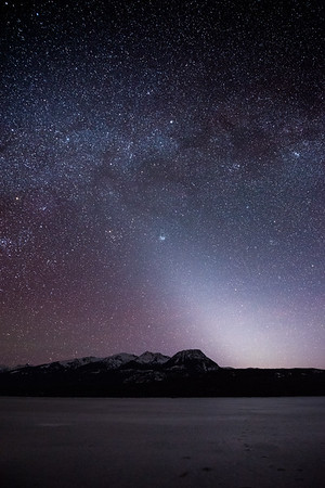 Zodiacal Light at Kalum Lake