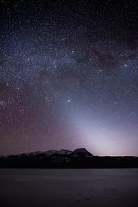 Zodiacal Light at Kalum Lake