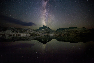 Thousand Island Lake Milky Way