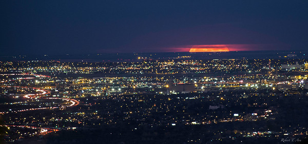 Denver Supermoon Rise