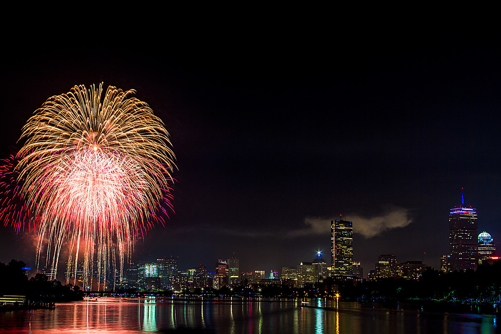 Boston on the Fourth of July