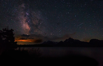 Night on Jackson Lake