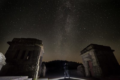 Milkyway Selfie Lake Vyrnwy