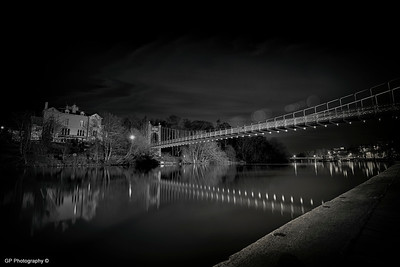 The Queen's Park Suspension Bridge, Chester