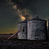 Silos In The Night