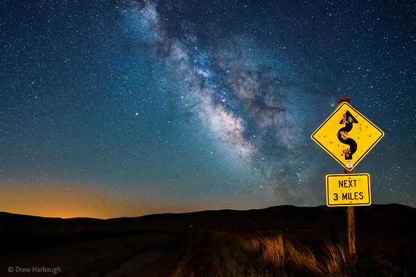 Curvy Road Next 3 Million Light Years