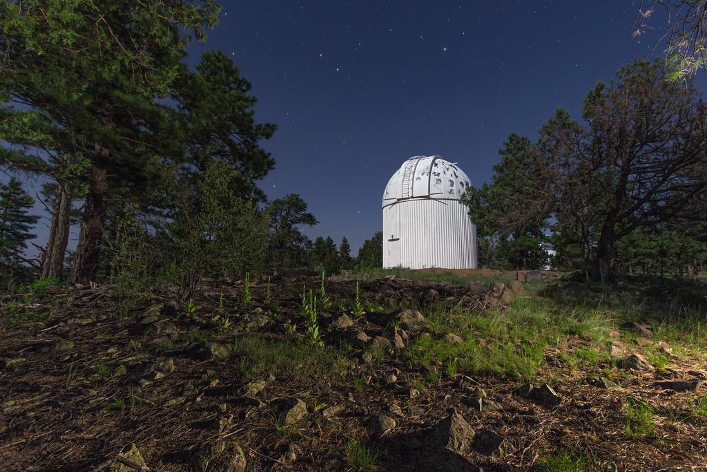 Ursa Minor over the LONEOS Dome
