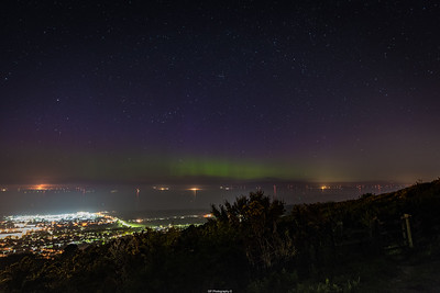 Northern Lights Over Prestatyn