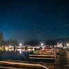 Bass Harbor Marina Perseid Meteor Shower 2020