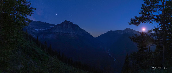 Going to the Sun Road Nightscape