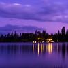 Evening at Bass Lake