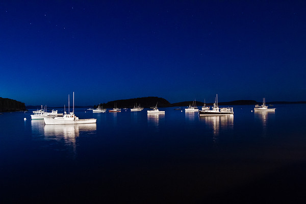 Ships in Bar Harbor