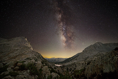 Selden Pass Milky Way