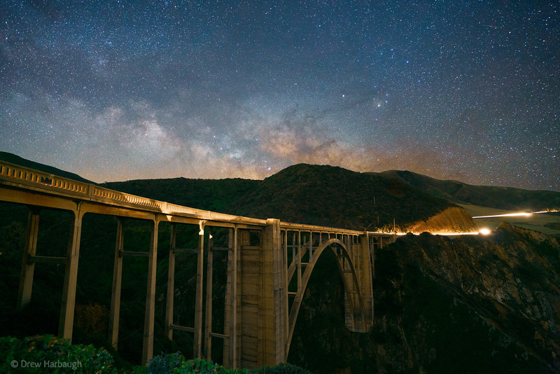 Milky Way at the Bixby Bridge