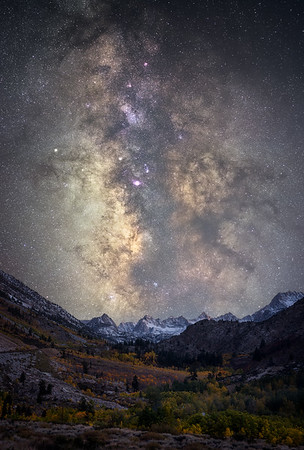 Milky Way over Aspendell, Inyo National Forest