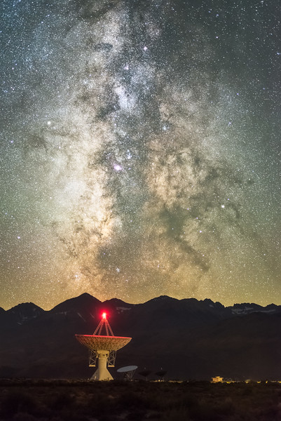 Owens Valley Radio Observatory Milky Way