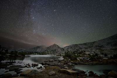 Marie Lake in the High Sierra