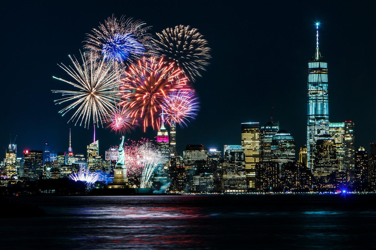 Ellis Island Fireworks