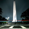 Bunker Hill Monument Light Trails