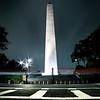 Bunker Hill Monument Light Trails