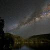 Pinecrest Lake under the Milky Way