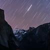 Arcturus Trails over Half Dome