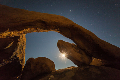 Arch Rock Moonrise