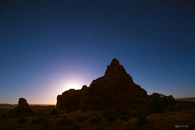 Arches Moonrise