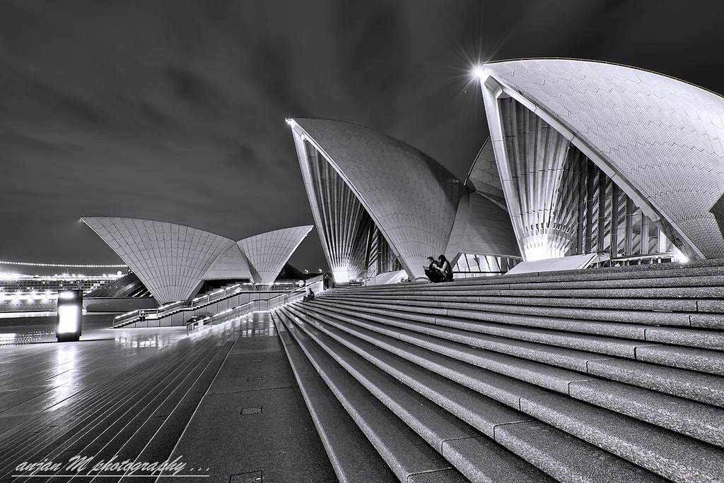 Moonlit Opera House