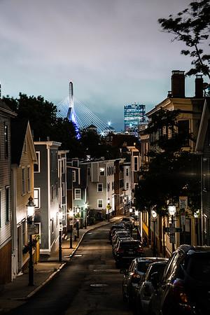 Glimpse of Boston
