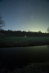 Reflection of Orion