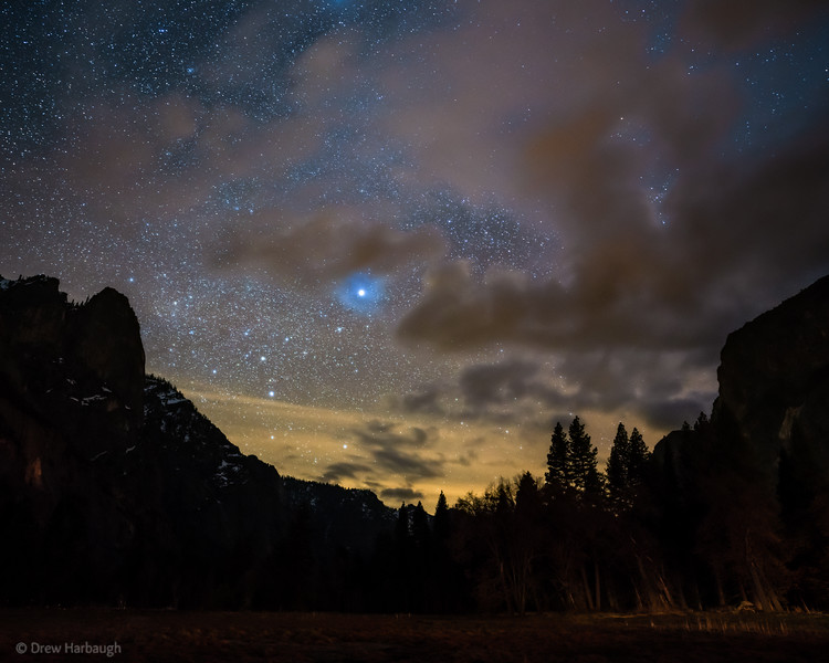 West Yosemite Valley Star-Rise