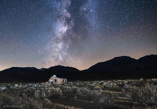 Milky Way and the 395 House