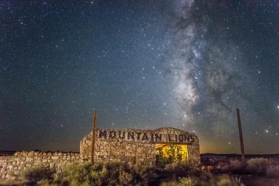 Mountain Lion Milky Way