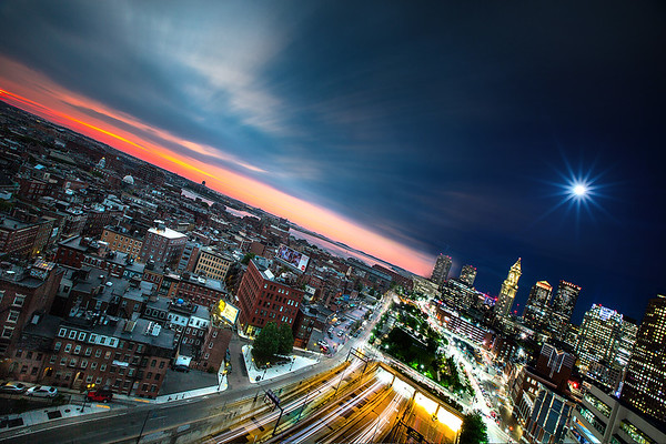 Day meets Night - Boston