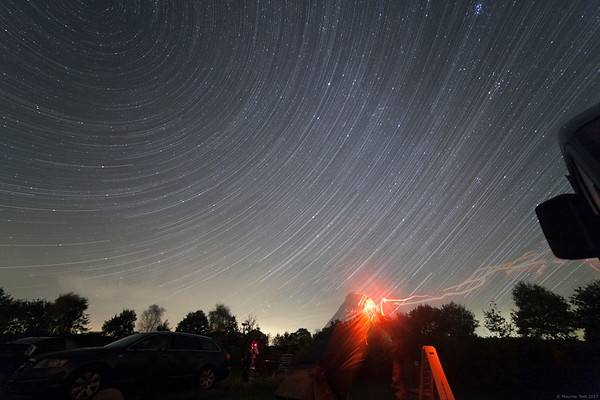 Hybrid Star Trails