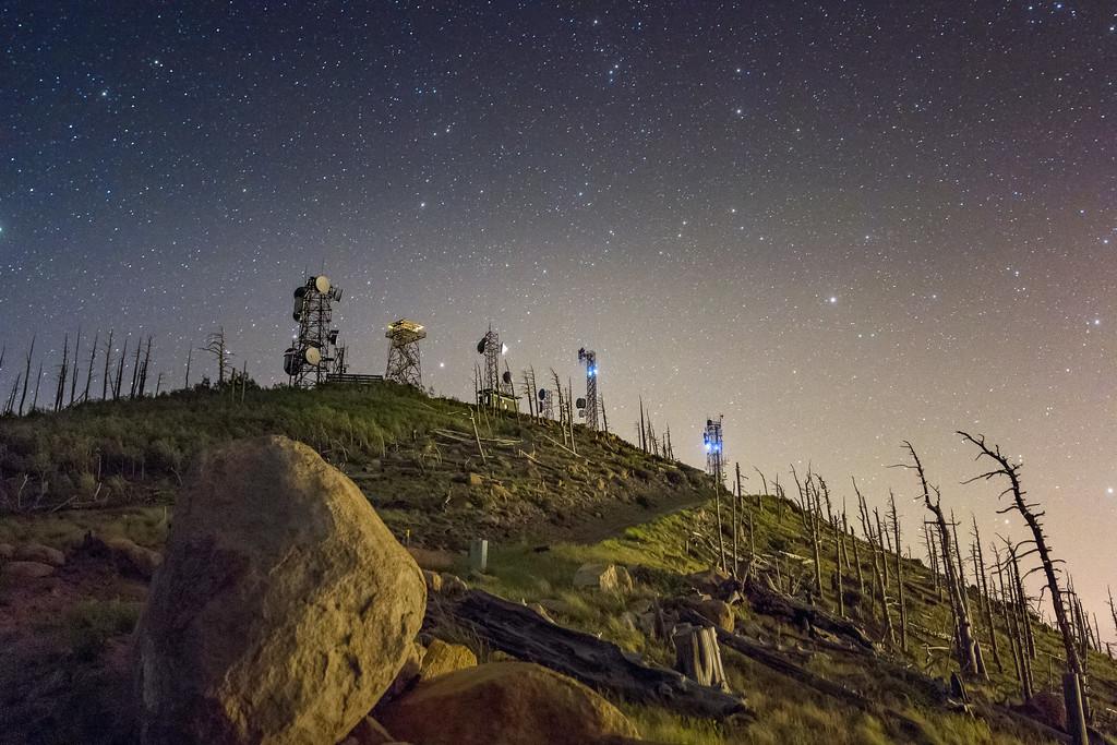 Night with Elden's Towers