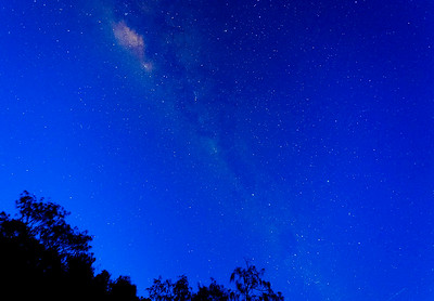 Shot of the Milky Way - Rainbow Beach
